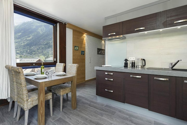 Apartment Grand Beausite, Central Chamonix (sleeps 4)