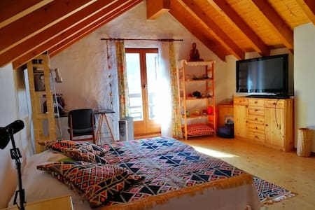 Cozy attic, Valle Verzasca