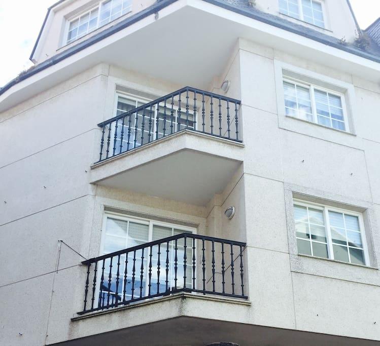 C ntrico piso en portonovo cerca de la playa apartamentos para alugar em portonovo galicia - Apartamentos en portonovo ...