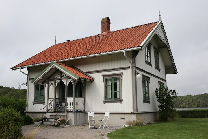 A lovely, spacious, two-story house on Rossö!