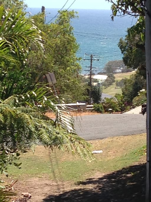 "View down the driveway , of the ""Point"" , Little Nobby"