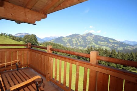 Luxury Room in Kitzbuhel Alps with panaroma - Inap sarapan