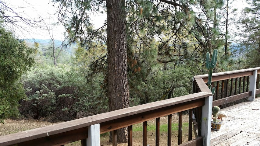 Separate residence; quiet, forested - Grass Valley - Huis