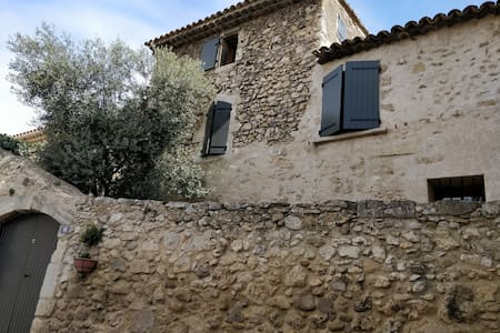 Provencal Village House in Stone