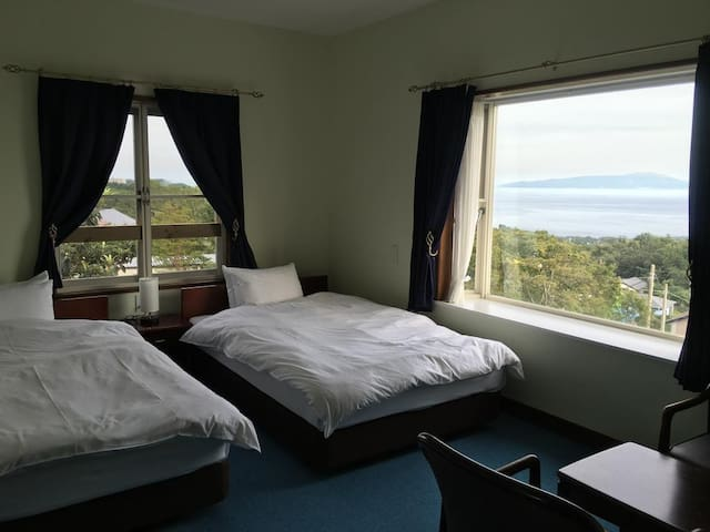 Cozy stay IZU kougen trip ! Ocean View Triple room