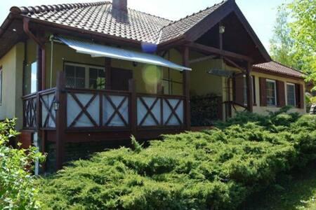 Urokliwy dom na Mazurach, szlak kajakowy Krutyni