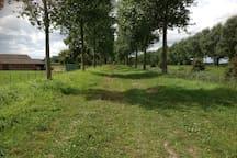 Prachtige polders, met mooie ruiter paden