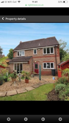 Beautiful detached house in a quiet location.
