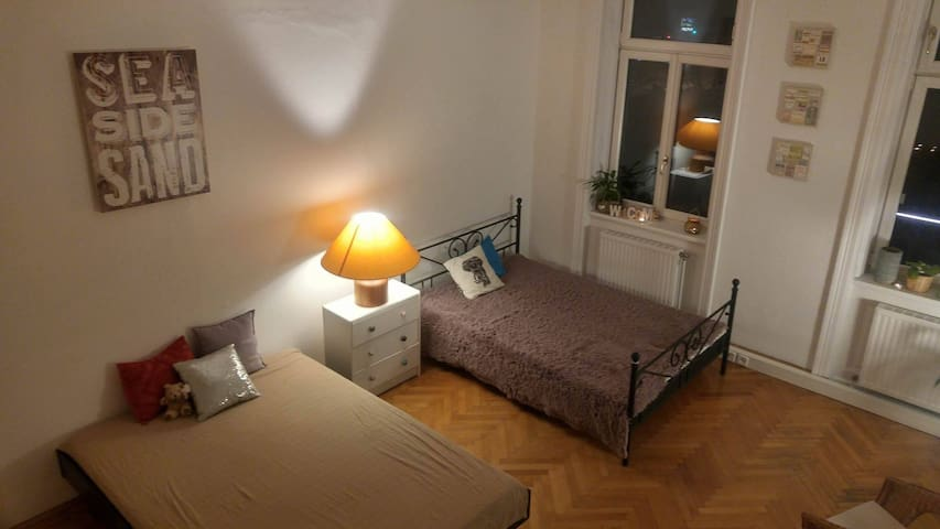 1 MINUTE TO METRO! Big and cozy room - Wien - Lägenhet