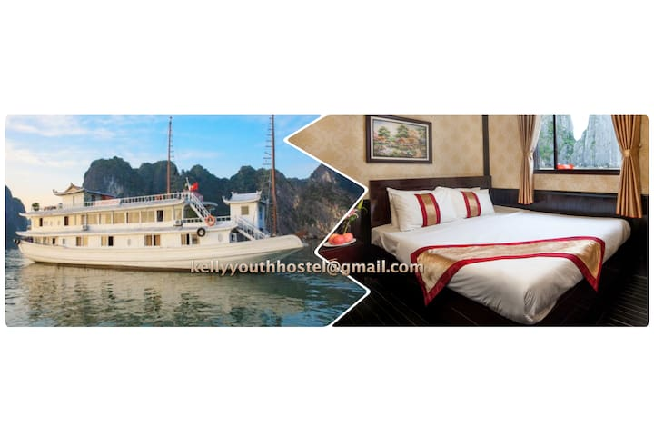 2 Days 1 Night on 2-star cruise - tp. Hạ Long - Barco