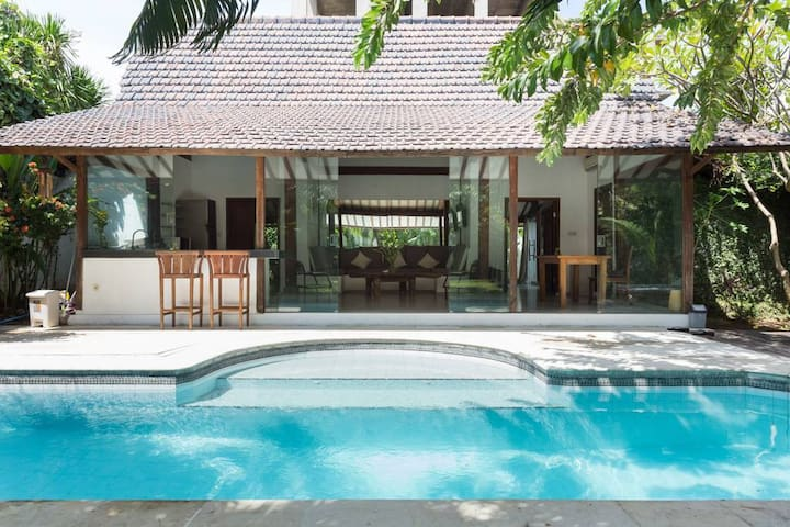 2BR private villa in seminyak with one free tour