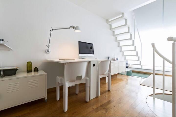 Loft appartamento/studio di design sui Navigli