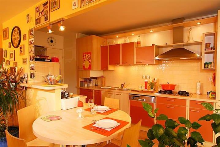 3 pieces  résidence calme et bien située - Miribel - Flat