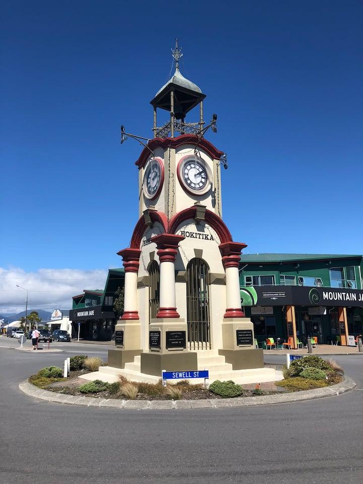 Hokitika's Famous Town Clock