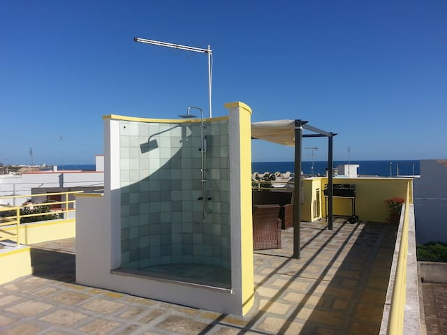 SALENTO three-room flat, 50 mt sea - Torre San Giovanni - Apartament