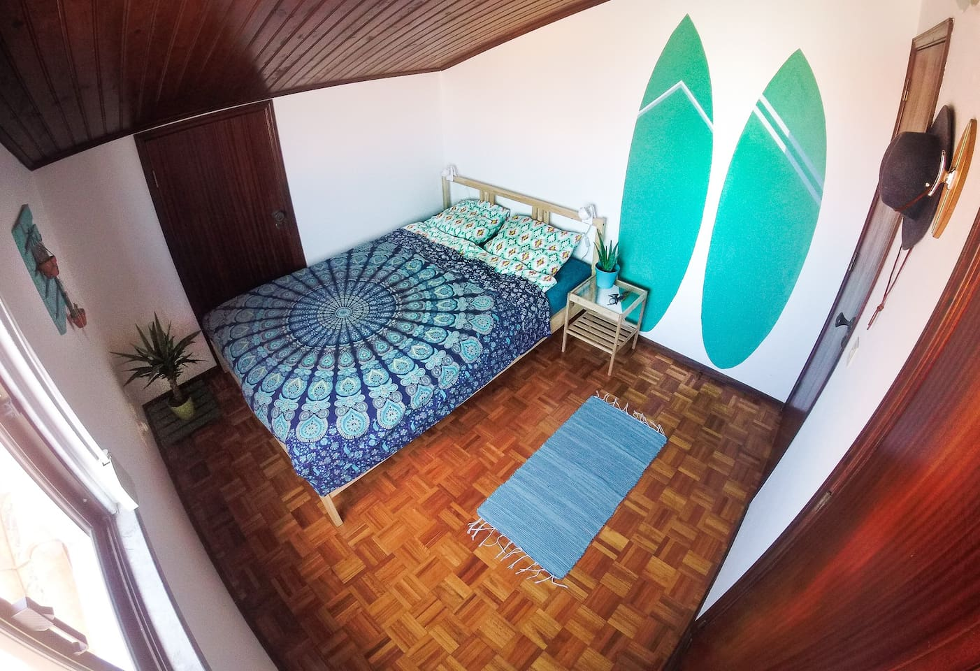 Green Double Bedroom
