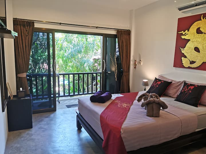 Deluxe Room in modern Villa
