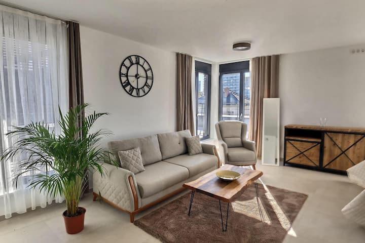 The Pearl 6 - Appartement moderne à 3 min de Bâle