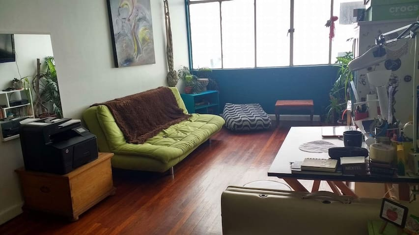Cómoda habitación en el centro de México