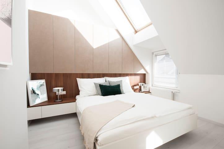 ❤️️ Luxury Studio Apartment, Belvedere & City Center
