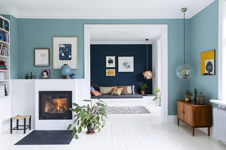 Beautiful cozy colourful Copenhagen villa