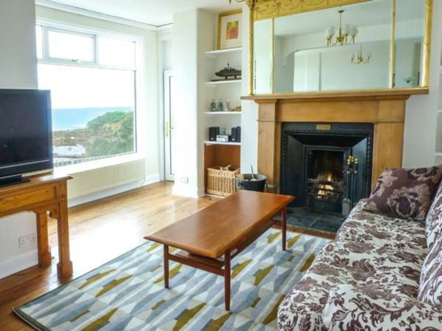 Breathtaking views from the sitting room and sunroom