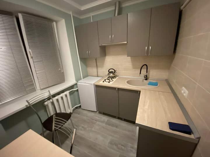 Уютная квартира после ремонта для отдыха.