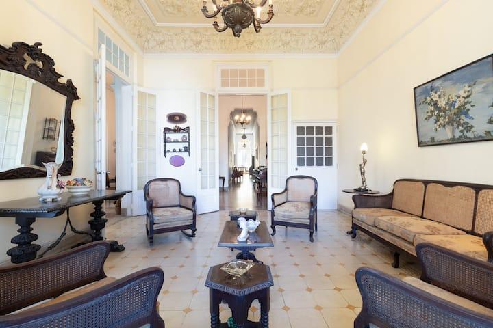 Bella Casa Patricia en La Habana, Cuba.