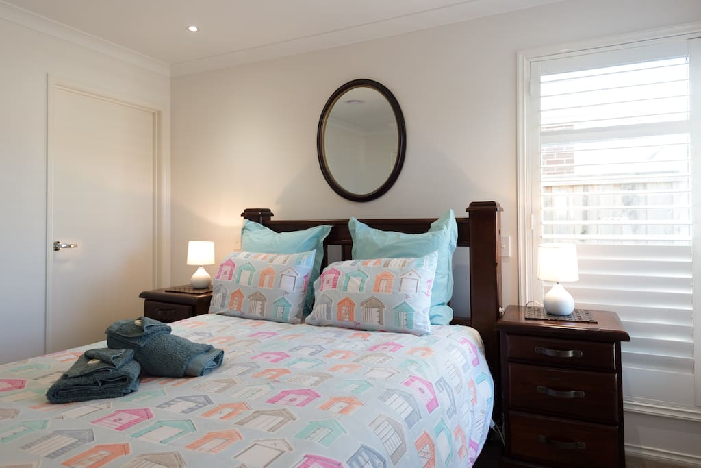 Guest Bedroom with Ensuite Down stairs