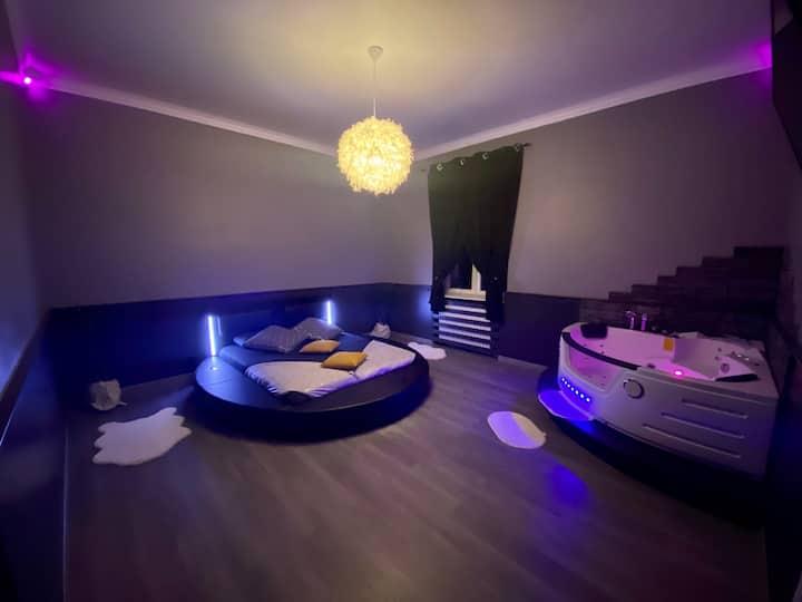 Appartement pour nuit romantique