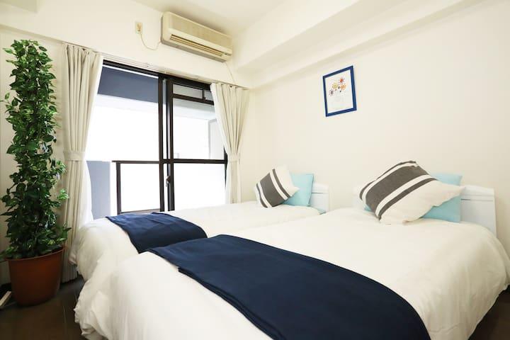 NEAR JR OSAKA Sta. USEFUL AP905 - Osaka - Apartment
