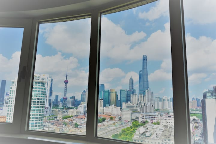 【外滩全景】Close to everything·超大观景窗·豫园(城隍庙)地铁站0距离 - Shanghai