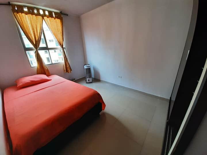 Habitación privada con perfecta ubicación