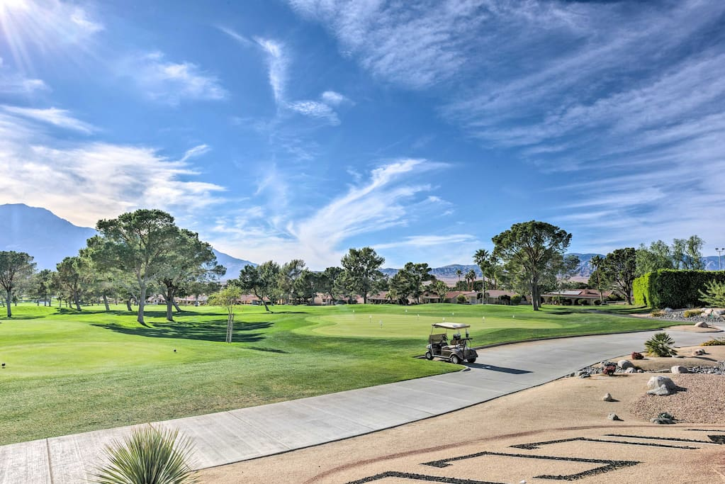 Treat yourself to rounds of golf or enjoy many other amenities.