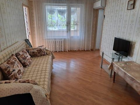 Квартира с видом на Тарки-Тау