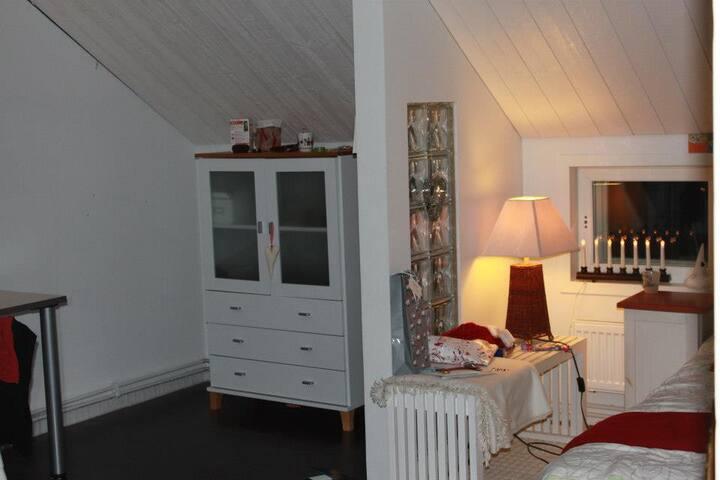 Talo järven rannalla, yläkerta - Kuhmo - House