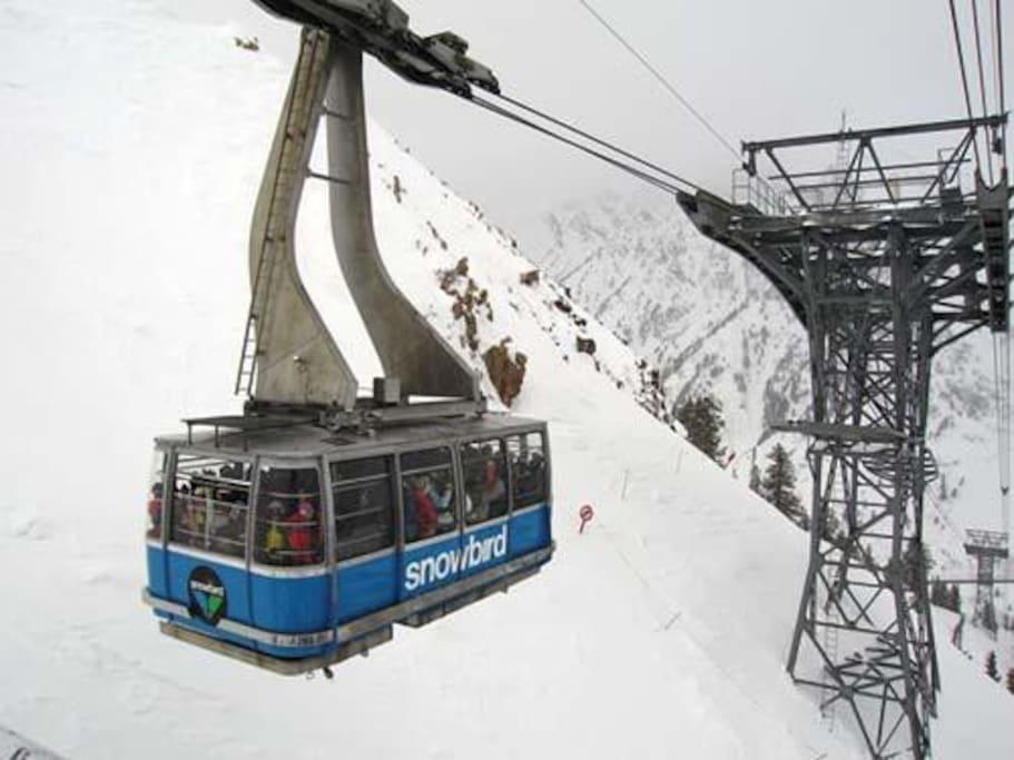World renowned Snowbird TRAM