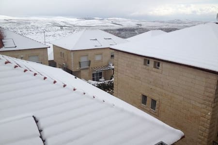 Adam - Geva Binyamin - Village 3 km from Jerusalem - Geva Binyamin - Apartemen