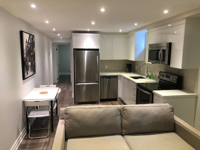Brand New Fully Furnished Private Suite in Toronto