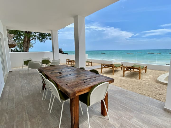 Ocean Blue Apartment With Jacuzzi ZanzibarHouses