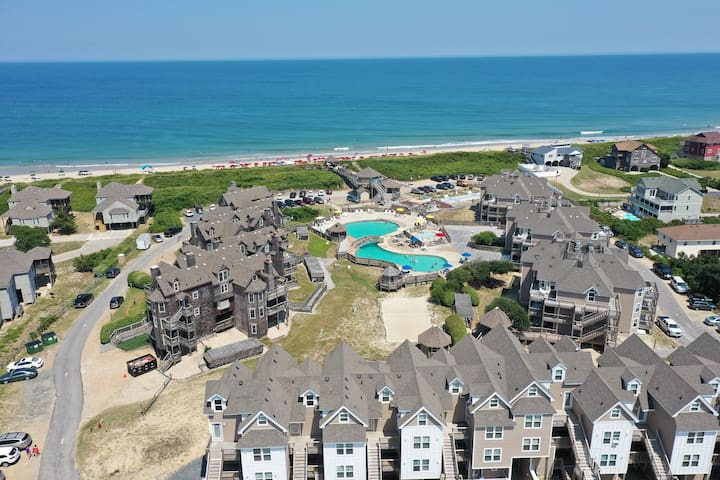 BIS-Duck Resort - OBX - 1BR/1BA - Great Amenities!