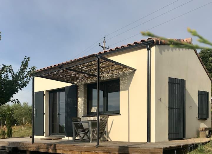 Maison indépendante pour 2 en Pays Cathare