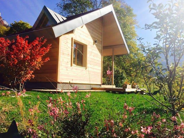 Tiny house entre lac et montagnes