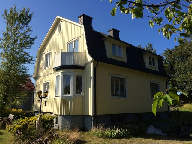 Large and cozy family house in Varberg