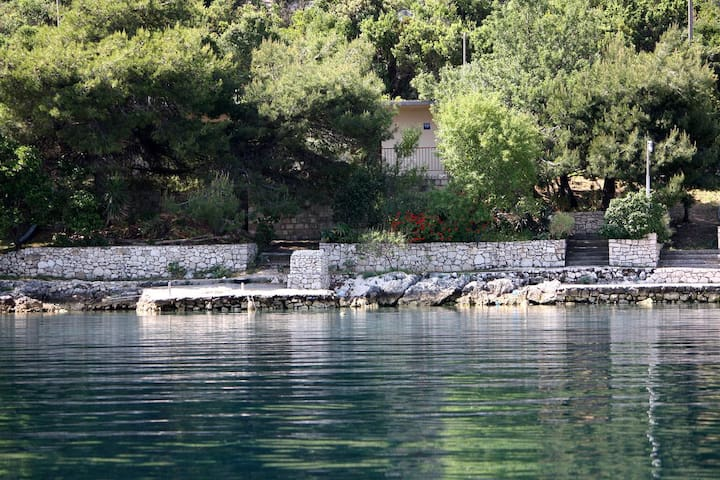 Comfortable and spacious house near beach Prožurska Luka, Mljet (K-617)
