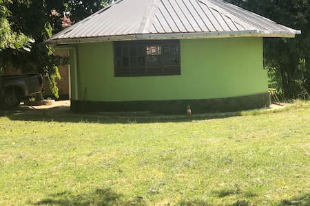 It is an isolated property Lazaro Adhu's home away