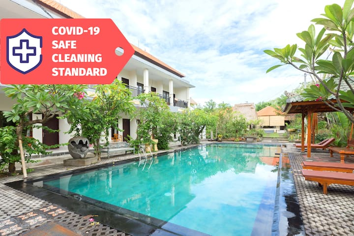 Uluwatu Tropical Holiday Rooms #2BR | STERILIZED