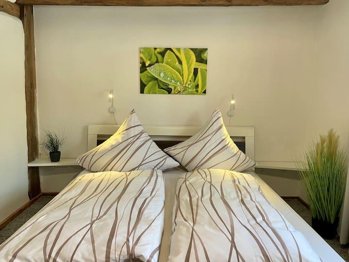 6. Gemütliches Doppelzimmer mit Sauna & Badeteich
