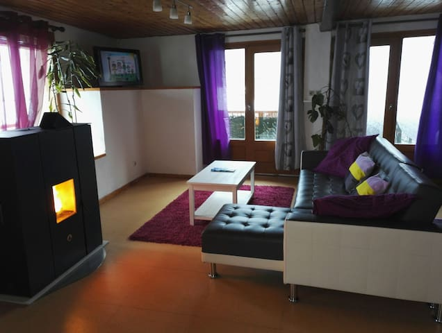 Apartment decorated in nine Saint Foy Tarentaise - Sainte-Foy-Tarentaise - Leilighet