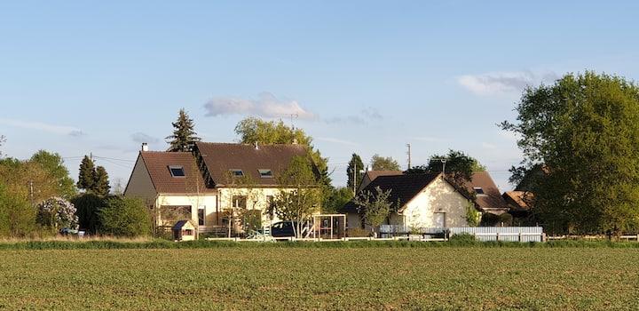 Maison au calme de la campagne au sud de paris